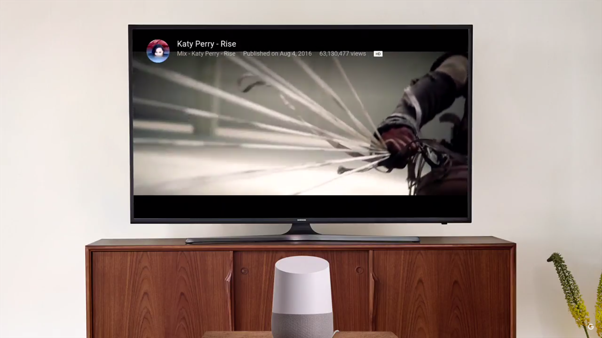Programme TV Google Home Assistant