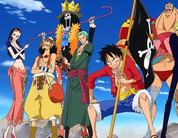 One Piece S19E828 Le pacte mortel. Luffy et Bege font alliance