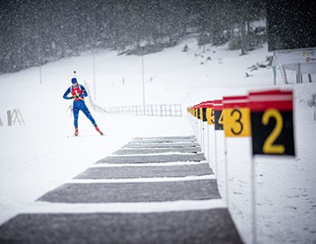Sprint 10 km messieurs - Biathlon Championnats d'Europe 2019