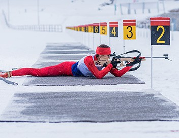 Sprint 7,5 km dames Biathlon Championnats d'Europe 2019