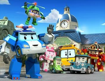 Robocar Poli S01E25 Attention au surmenage !