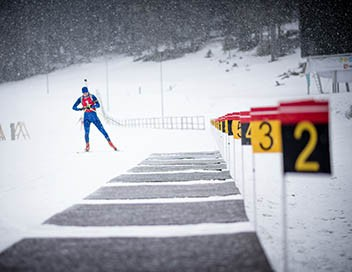 Relais mixte simple - Biathlon Championnats d'Europe 2019