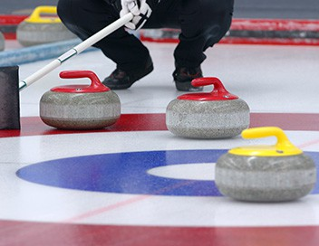 Demi-finales messieurs Curling Championnats d'Europe 2019