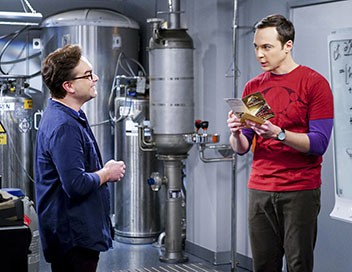 The Big Bang Theory S10E15 La réverbération de la locomotive