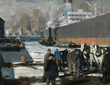 Les petits secrets des grands tableaux S04E03 «Men of the Docks», 1912, Bellows