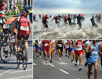 2e manche. Finales dames et messieurs Triathlon Super League 2019/2020