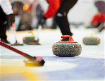 Demi-finales dames Curling Championnats d'Europe 2019