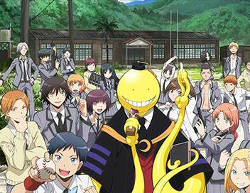Assassination Classroom S01E16 Séquence fin du trimestre