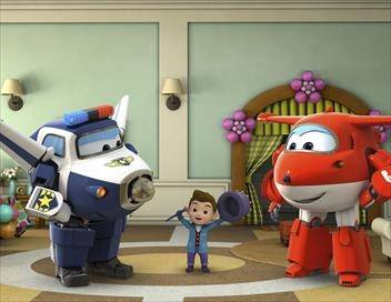 Super Wings, paré au décollage ! S03E16 Que le spectacle continue !
