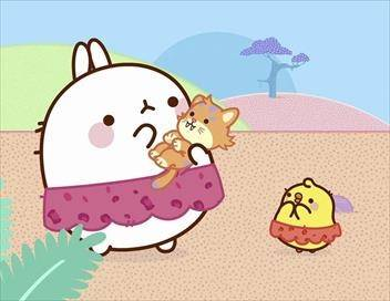 Molang S04E02 Le chaton à dents de sabre