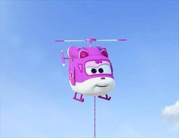 Super Wings, paré au décollage ! S03E25 Au son du violon