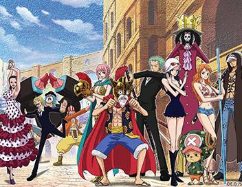 One Piece S16E587 Le choc ! Law contre le vice-amiral Smoker