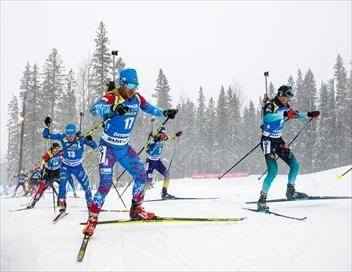 Mass Start 15 km messieurs Biathlon Coupe du monde 2018/2019