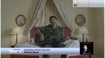 Replay Absolument Stars : Agenda spectacles : Patrick Bruel, Pascal Obispo