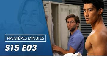 Replay Premières minutes : Grey's anatomy - Saison 15 Episode 3 - Une question d'instinct