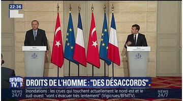 Macron-Erdogan, accords et désaccords