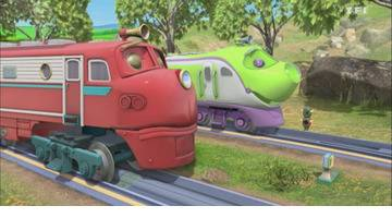 Le stage avec Olwin - Chuggington