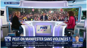 Peut-on manifester sans violences ?