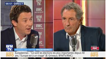 Benjamin Griveaux face à Jean-Jacques Bourdin en direct