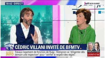 Cédric Villani face à Ruth Elkrief (2/2)