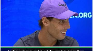 "US Open - Nadal : ""Impossible de retenir mes émotions"""