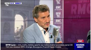 Mohed Altrad face à Jean-Jacques Bourdin en direct - 18/09