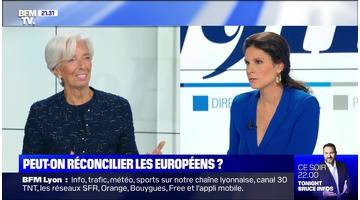 Christine Lagarde face à Apolline de Malherbe - 30/10
