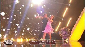 Replay Superkids : INEDIT - A seulement à 9 ans, Khalil & Lina reprennent la chanson culte Dirty Dancing...