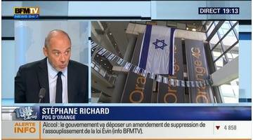 Stéphane Richard face à Ruth Elkrief