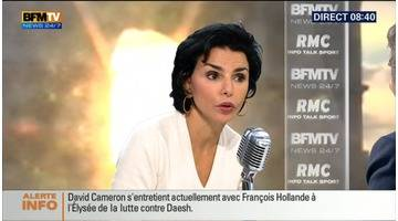 Rachida Dati face à Jean-Jacques Bourdin en direct