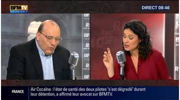 Julien Dray face à Apolline de Malherbe en direct