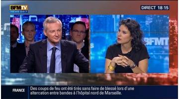 BFM Politique: L'interview de Bruno Le Maire par Apolline de Malherbe (1/6) - 23/11