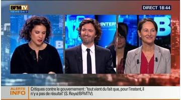 BFM Politique: L'interview de Ségolène Royal par Christophe Ono-Dit-Biot (3/5) - 19/10