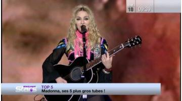 Absolument Stars : Top 5: Madonna, ses 5 plus gros tubes!