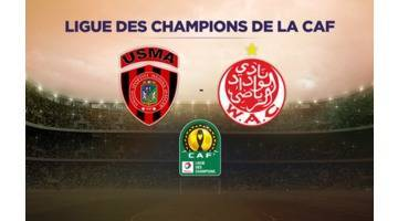 USM Alger - Wydad Casablanca en direct