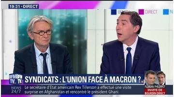 Jean-Claude Mailly face à Laurent Neumann