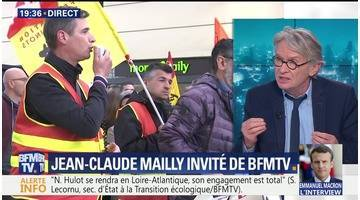 Jean-Claude Mailly face à Ruth Elkrief