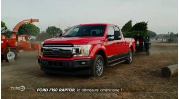 Turbo : Ford F150 Raptor : la démesure américaine !