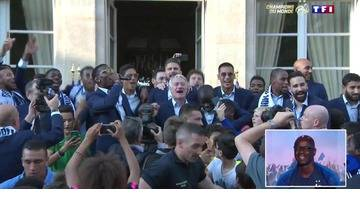 Replay Equipe de France : Le Show Paul Pogba à l'Elysée !