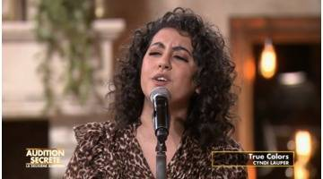 Replay Audition secrète : Meryem reprend « True colors » de Cindy Lauper