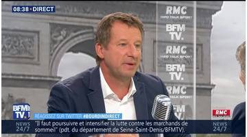 Yannick Jadot face à Jean-Jacques Bourdin en direct