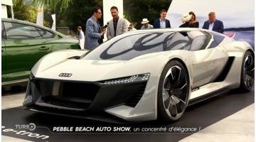 Turbo : Pebble Beach Auto Show : un concentré d'élégance !