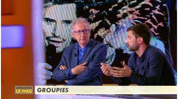 Replay La folie des groupies - L'Info du vrai du 25/10 - CANAL+