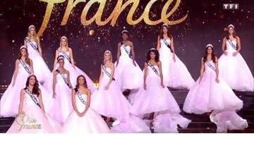 Replay Miss France 2019 – Les 12 Miss demi-finalistes passent le grand oral