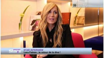 Replay Absolument Stars : Star interview : Lara Fabian, le retour de la diva !